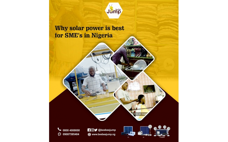 Why solar power is best for SME's in Nigeria